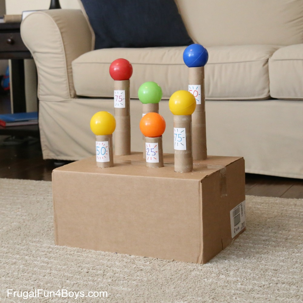 Knock the Balls! Nerf Target Game