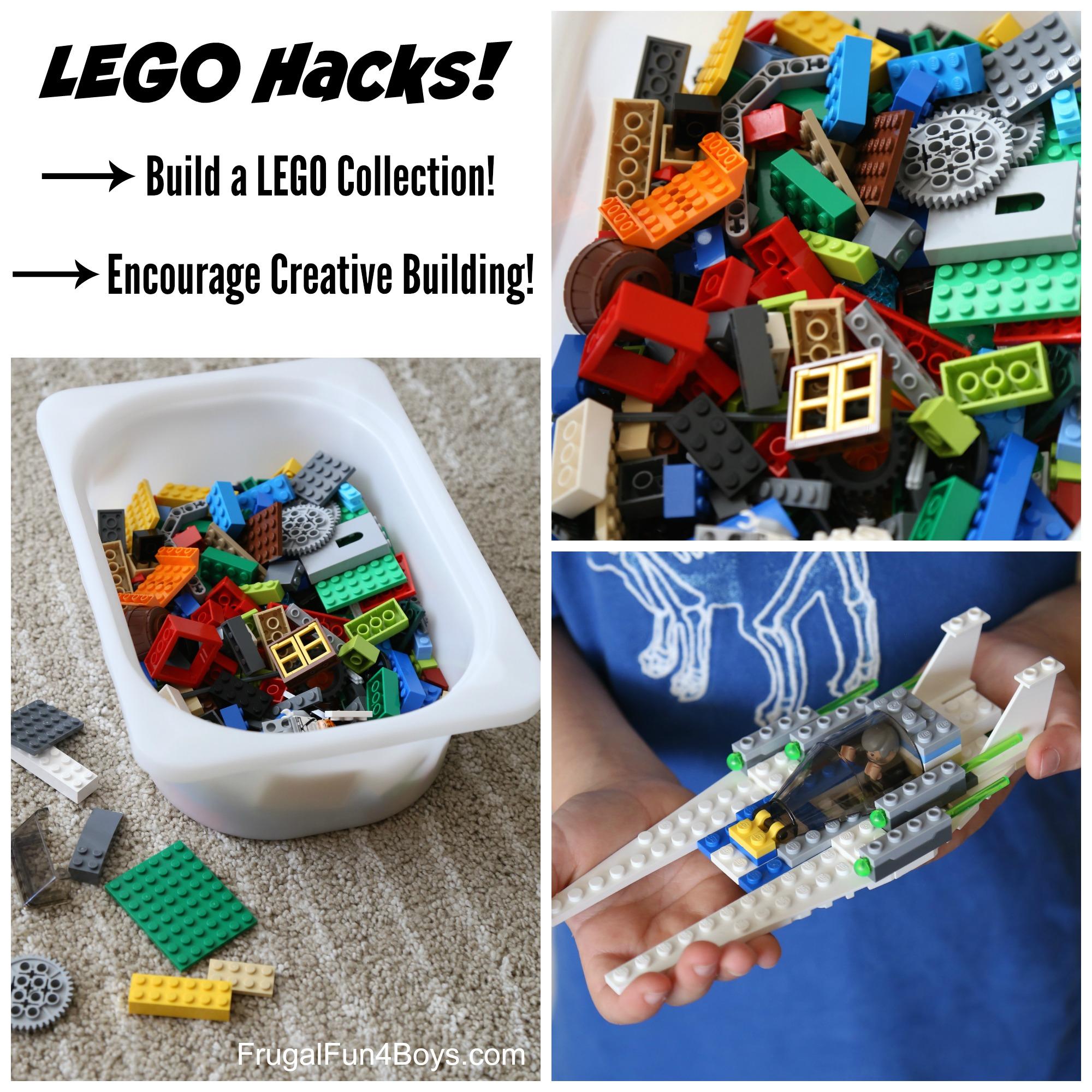 LEGO Hacks! Build a LEGO Collection and Encourage Creative Building!