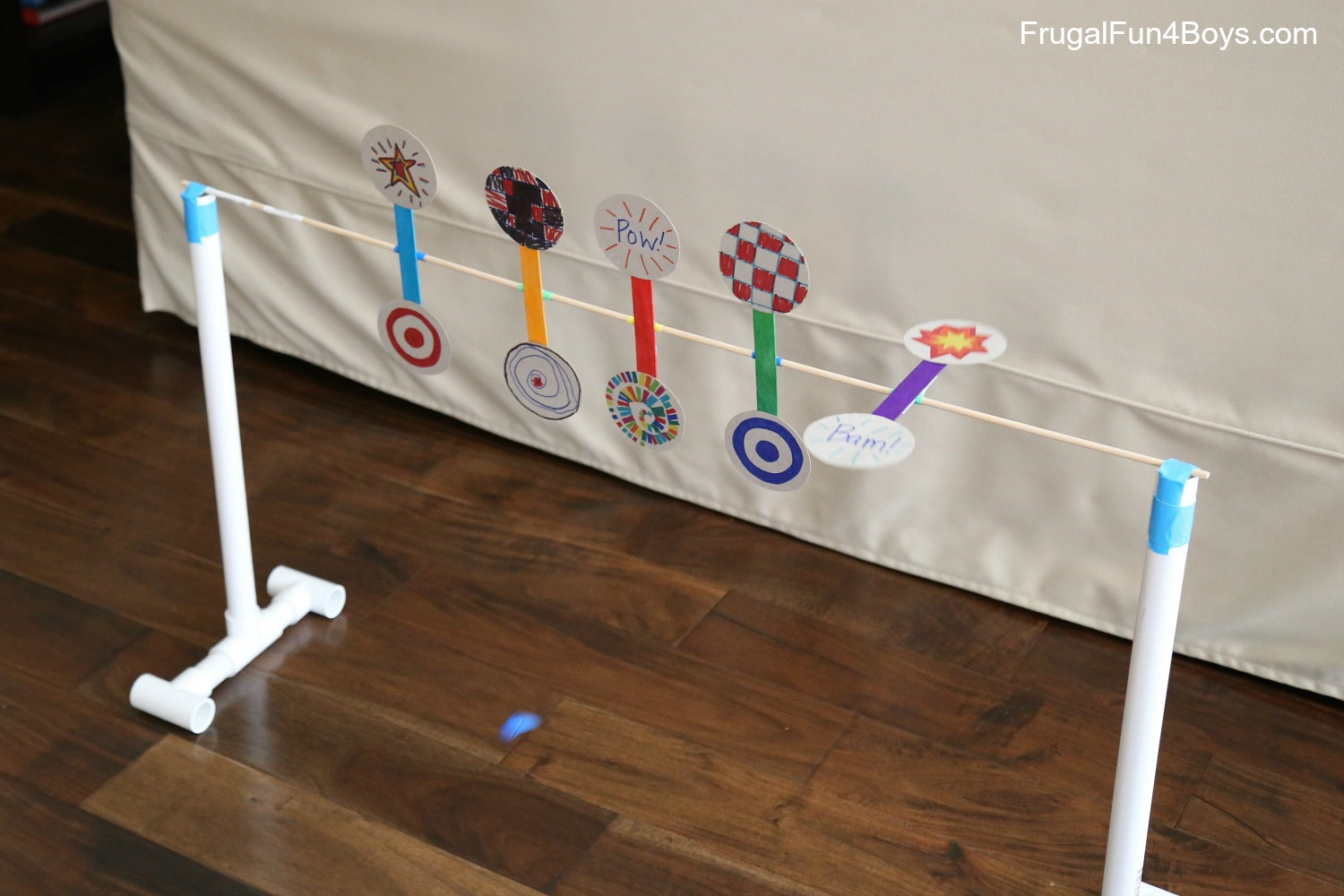 How to Make a Nerf Spinning Target
