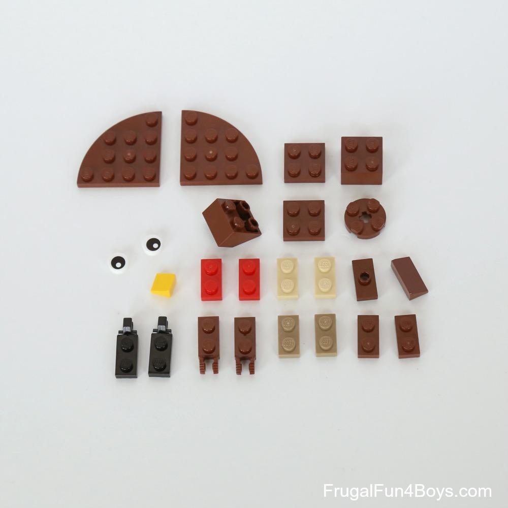 LEGO Turkey Building Instructions
