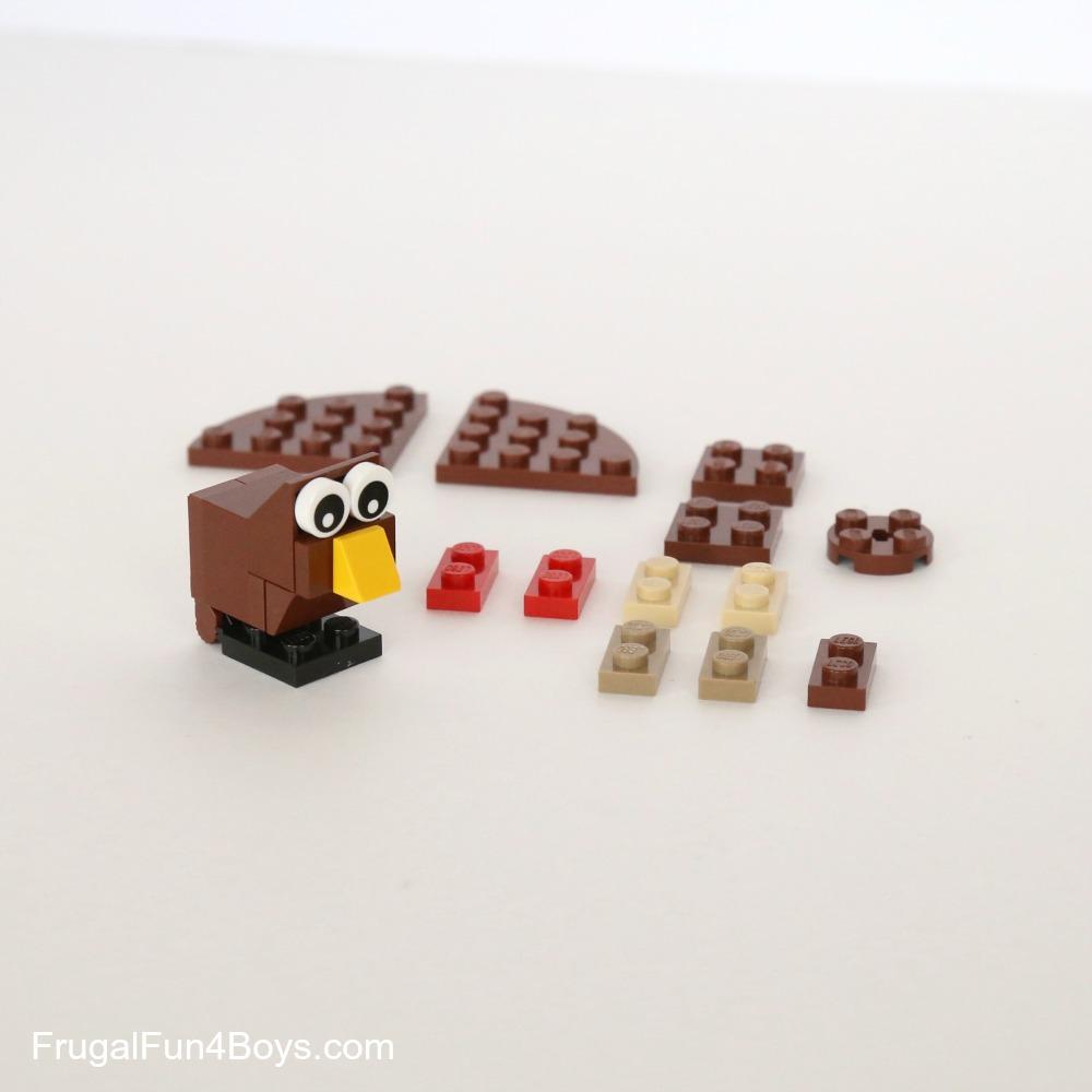 LEGO Turkeys Building Instructions