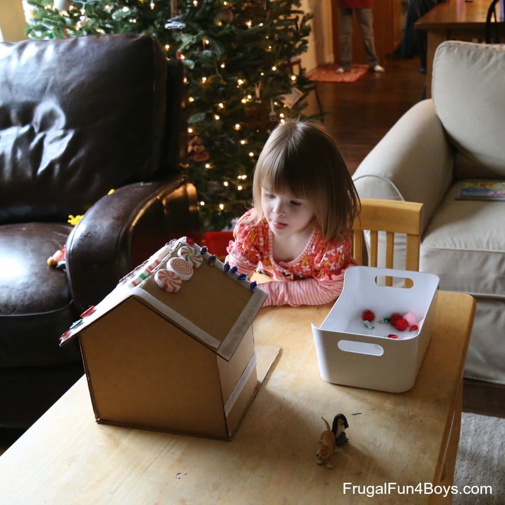 Velcro Changeable Gingerbread House