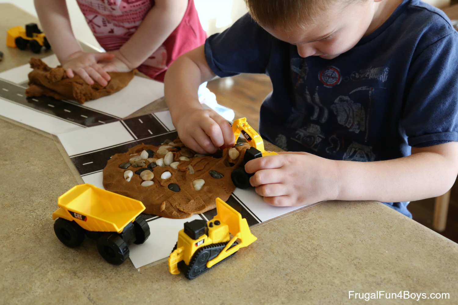 How to Make Mud Play Dough