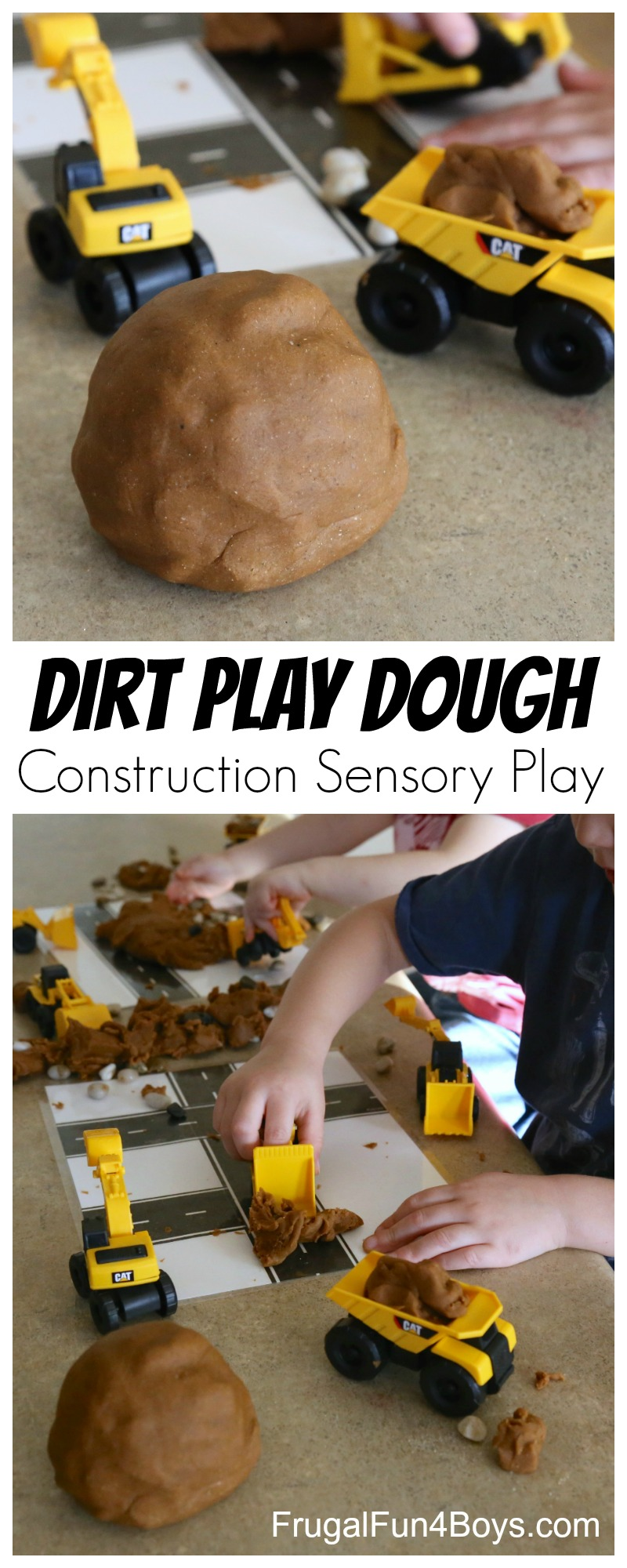 How to Make Dirt Play Dough