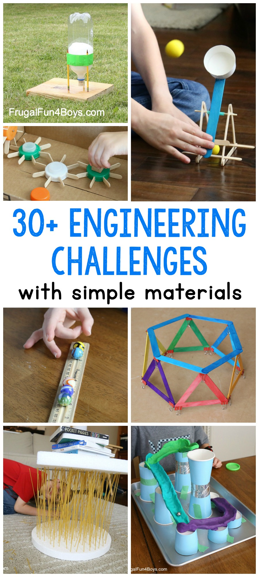 30 Awesome Stem Challenges For Kids With Inexpensive Or