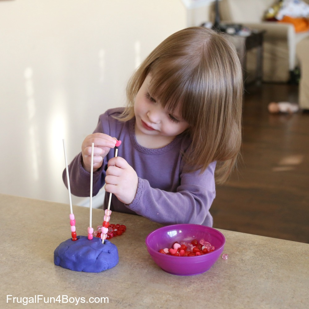 Valentines Day Play Dough Activities
