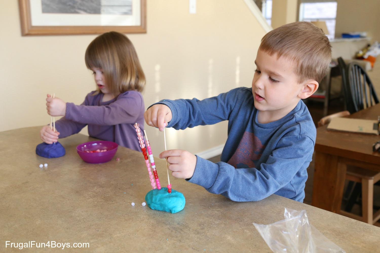 Valentine's Day Play Dough Activities