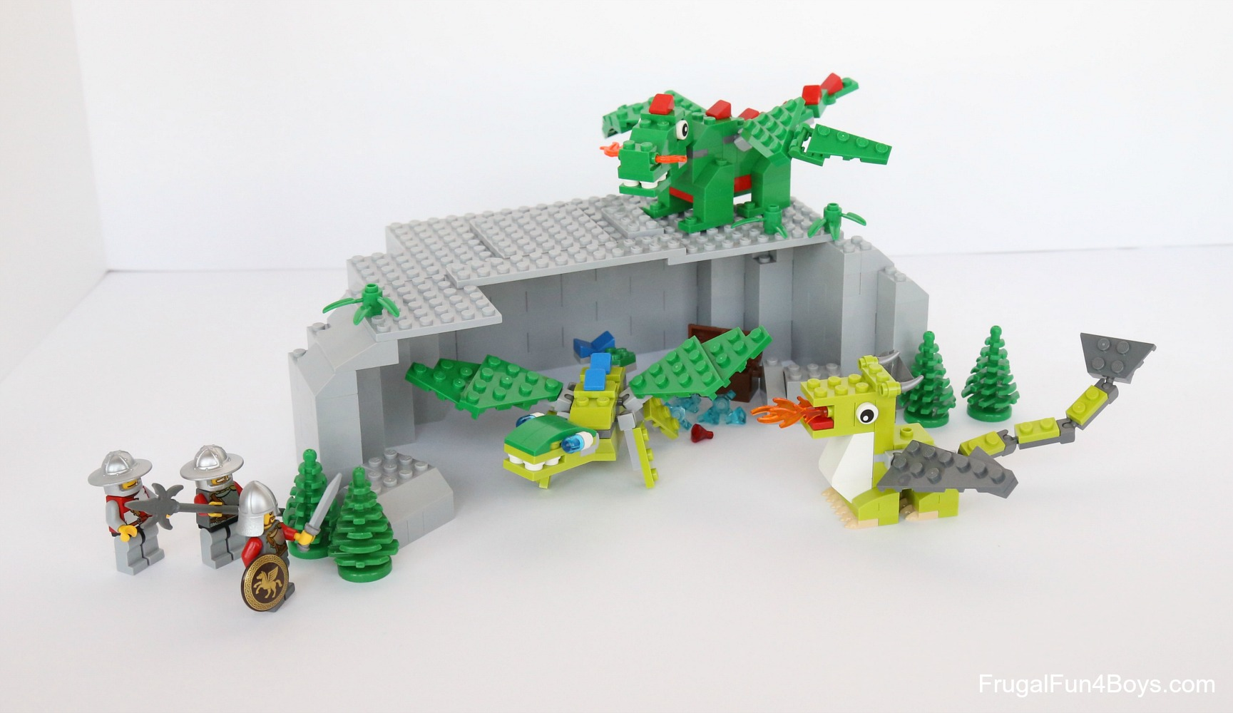 LEGO Mini Dragons Building Instructions
