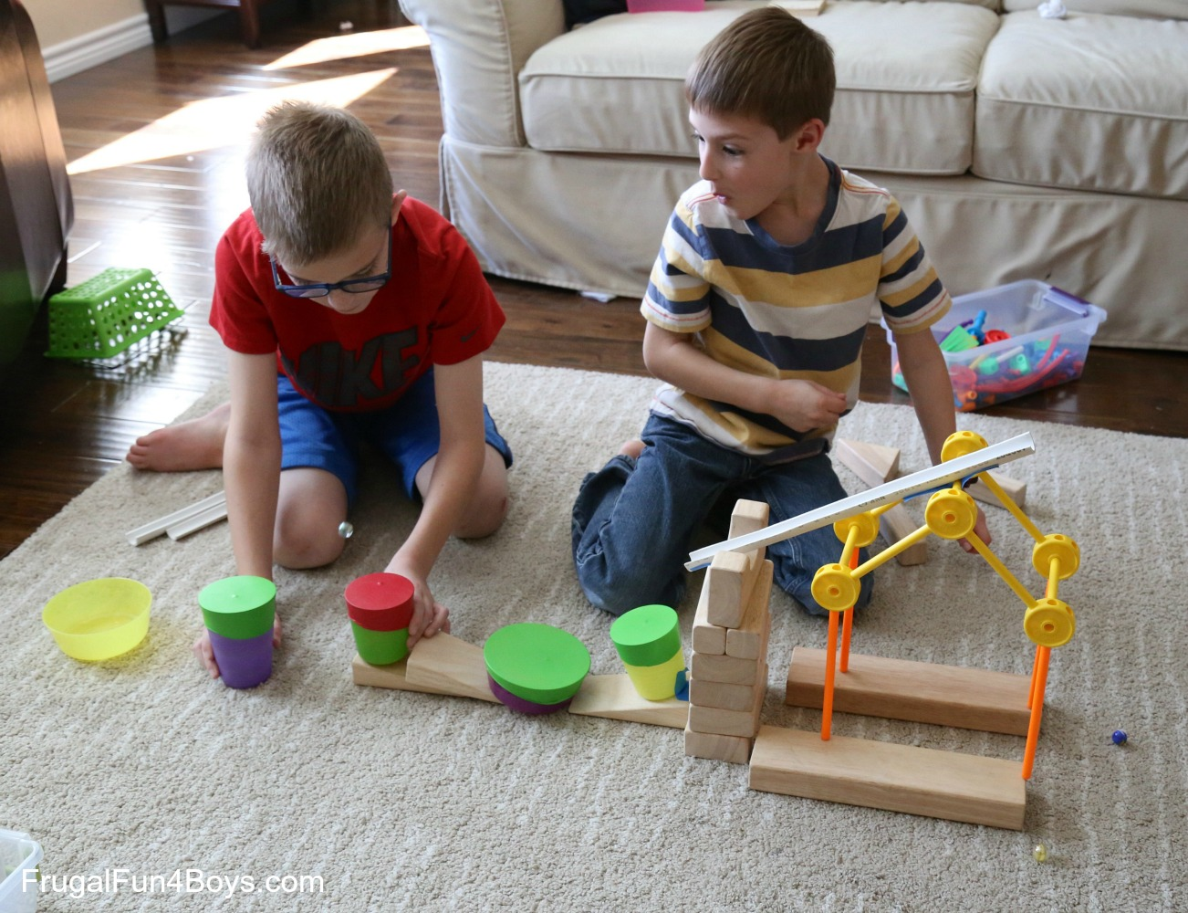 Marble Trampolines! Engineering Challenge for Kids