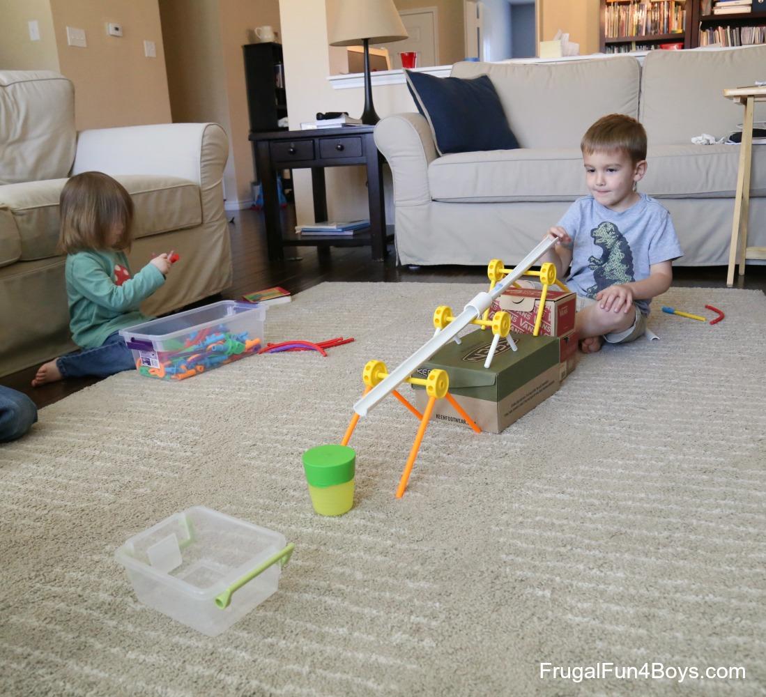 Marble Trampolines! Engineering Challenge for Kids