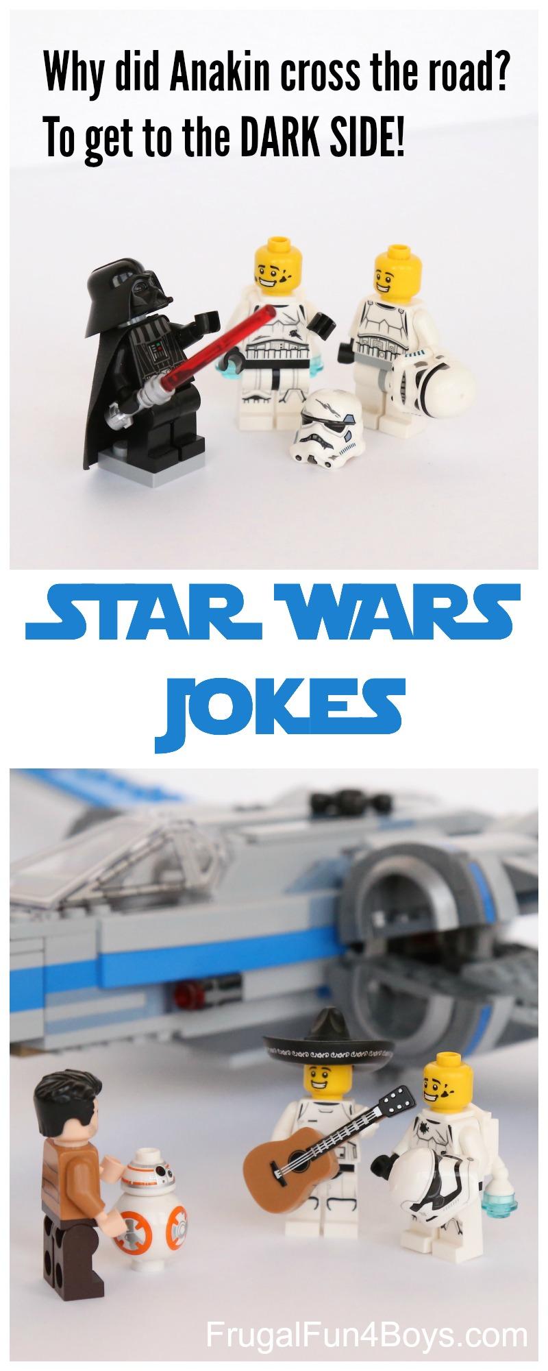 Hilarious Star Wars Jokes for Kids