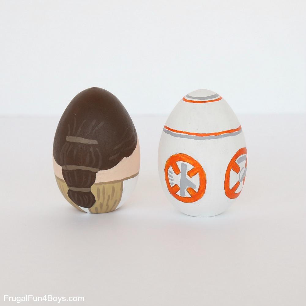 Star Wars Painted Eggs