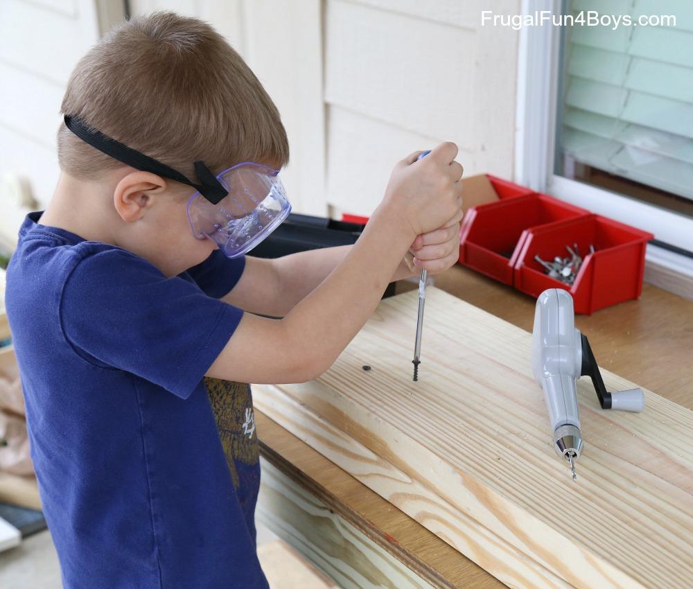 Kids Workbench Plans