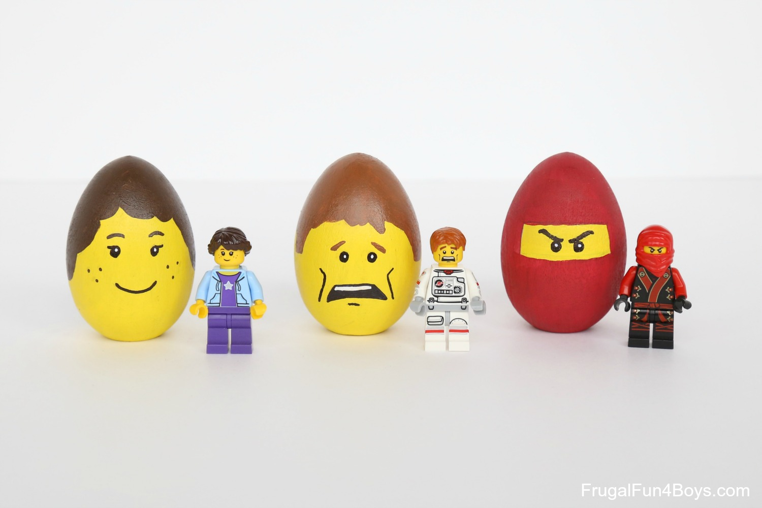 LEGO Minifigure Easter Eggs