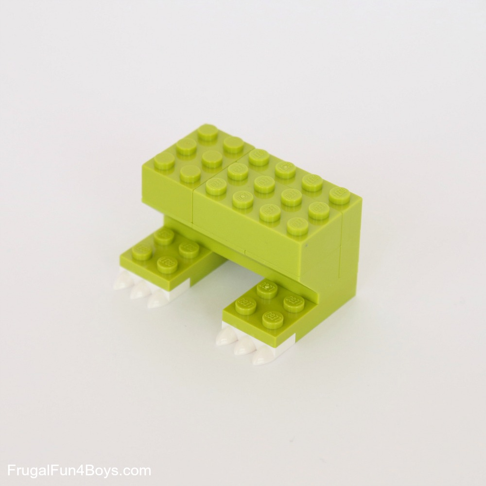 New LEGO Lot of 4 Lime Green 1x6 Plates