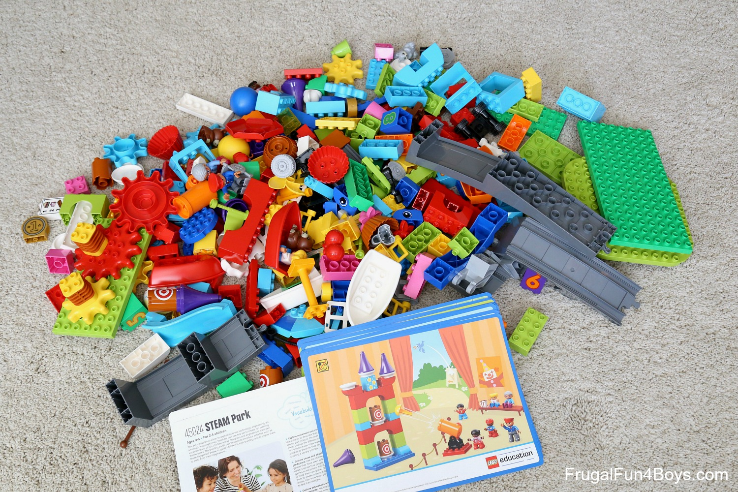 STEAM Projects for Preschoolers with LEGO Duplo - Frugal ...