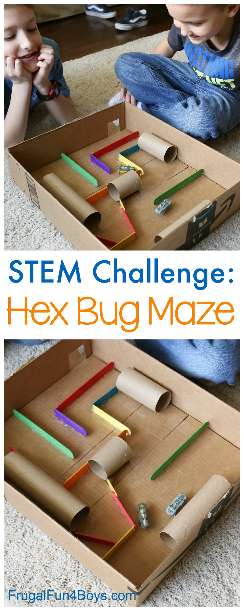 Design Your Own Hex Bug Playground Frugal Fun For Boys And Girls