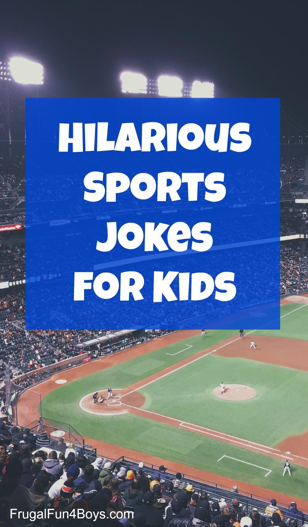 Sports jokes for kids