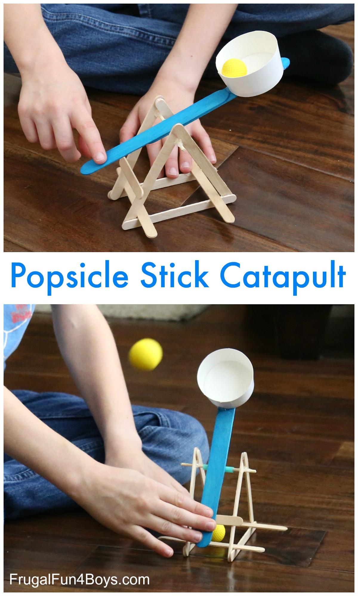 Popsicle Stick Catapult