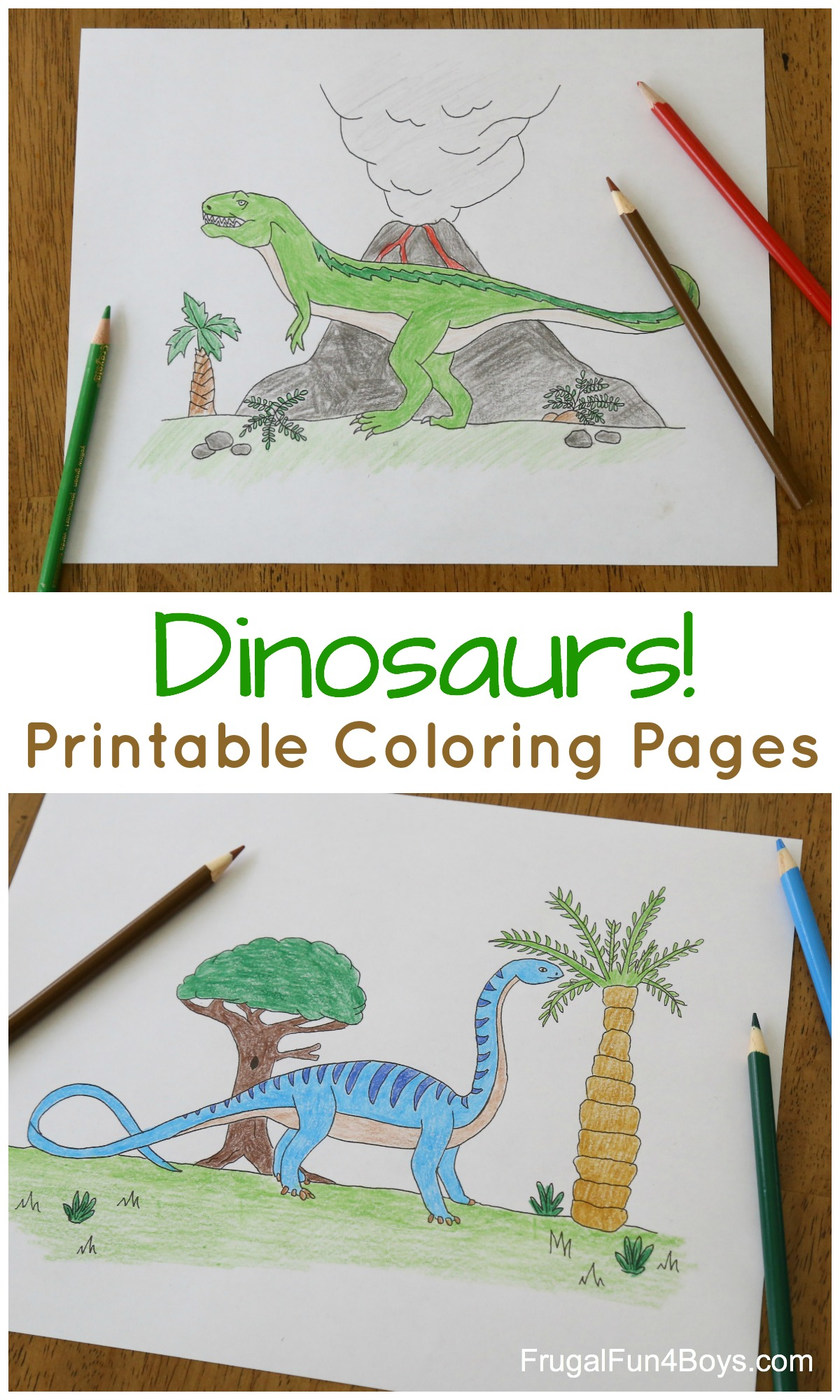 Printable Dinosaur Coloring Pages For Kids Frugal Fun For Boys And Girls