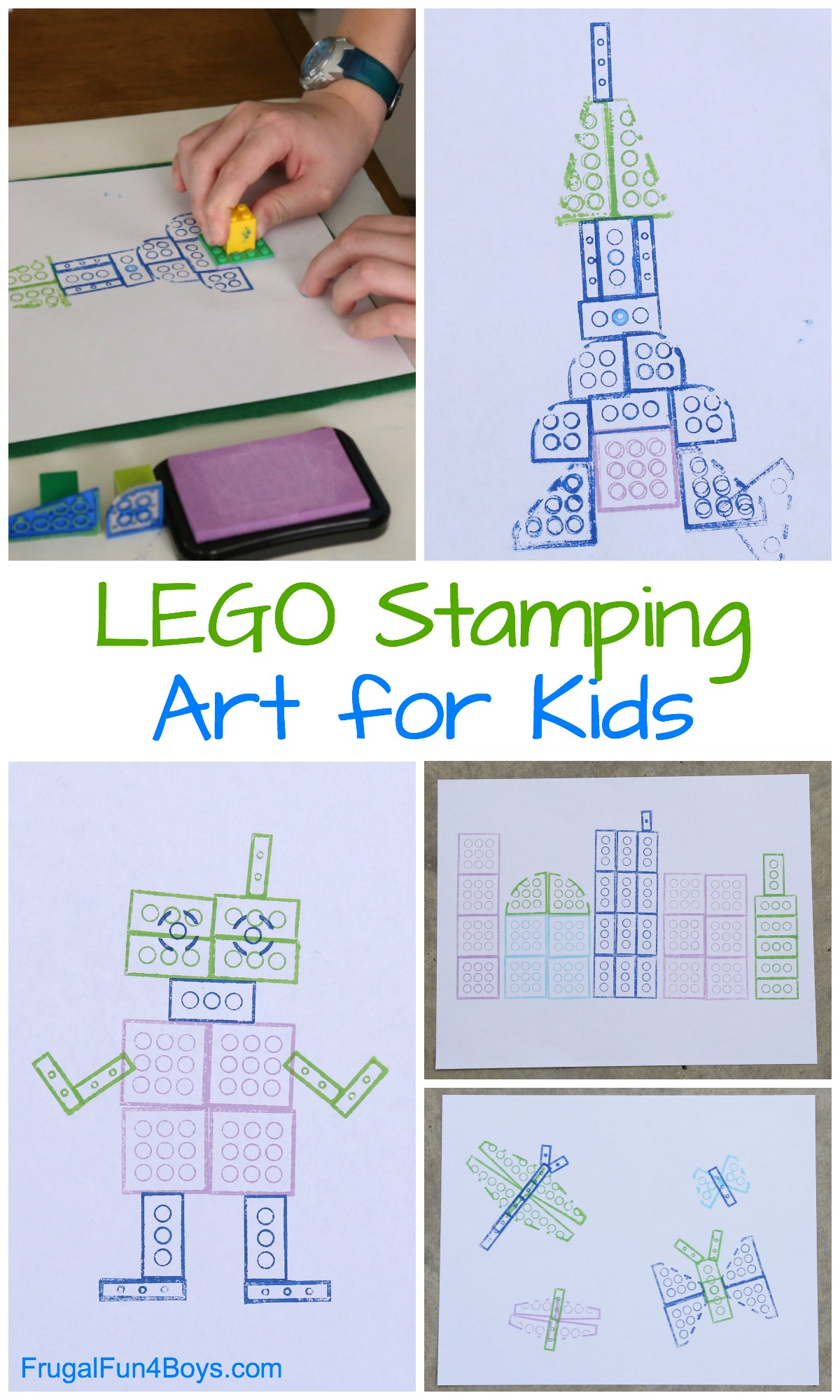 Image result for lego stamping art