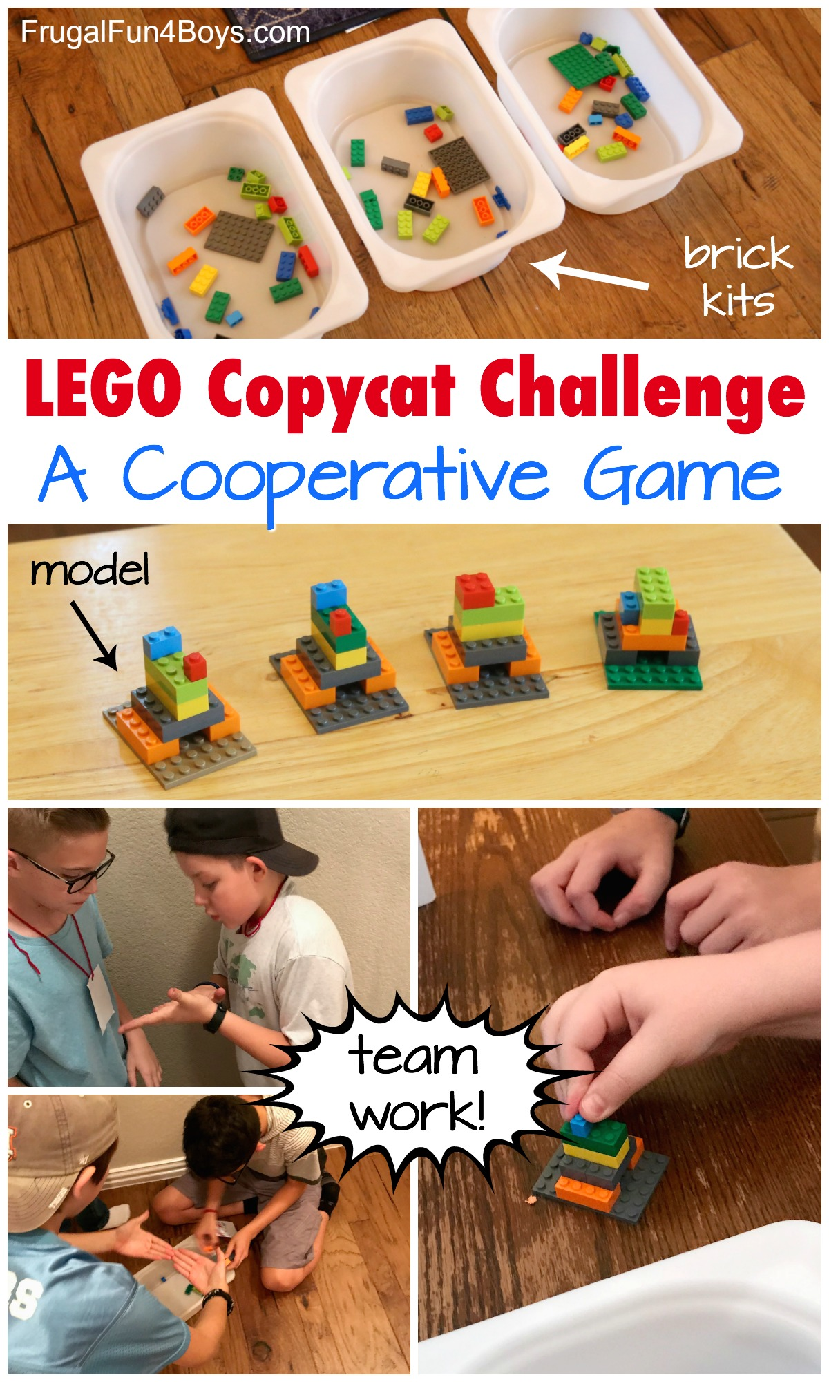 60 Second LEGO Challenges Game