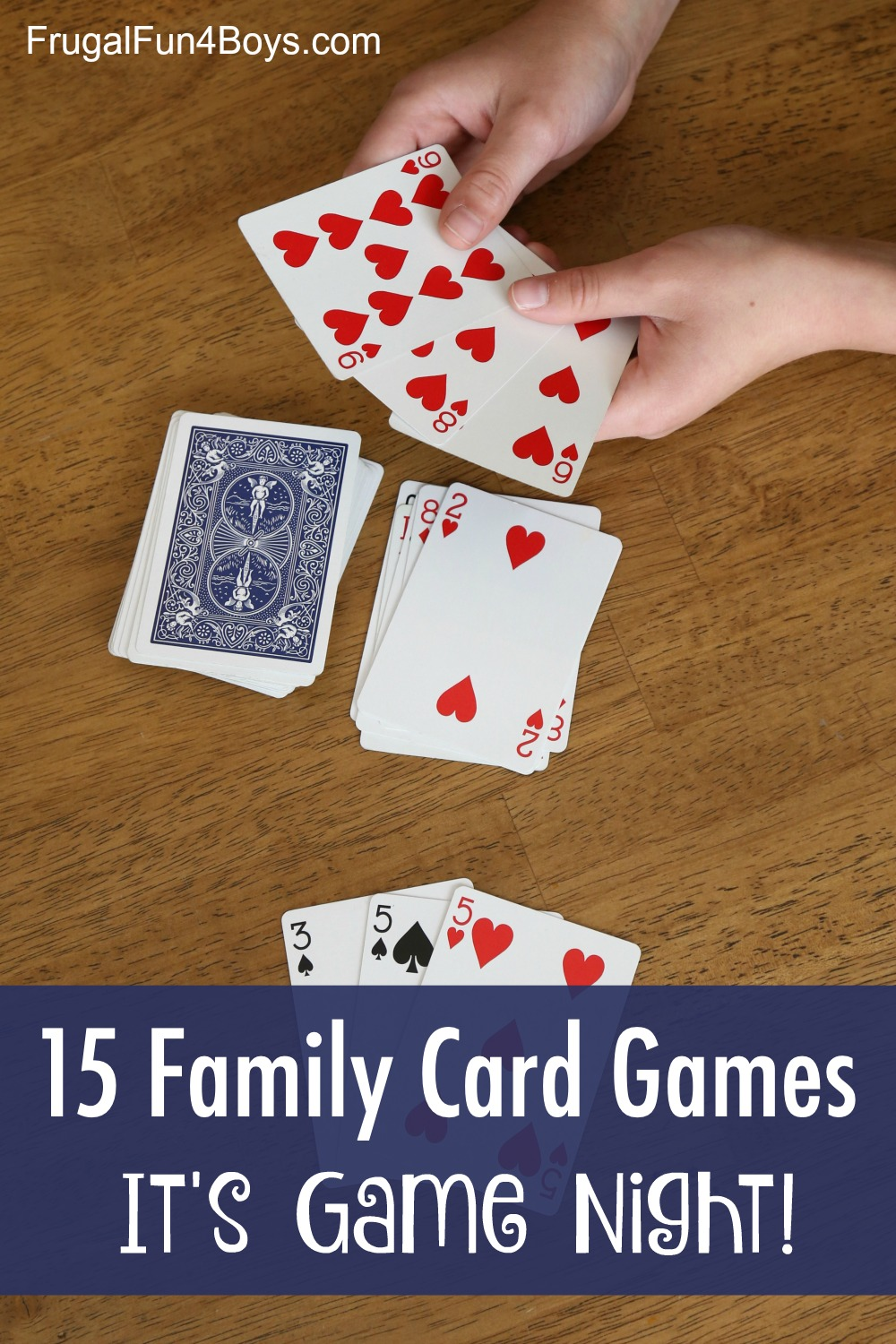 4 Card Games that are Perfect for Your Next Family Game Night