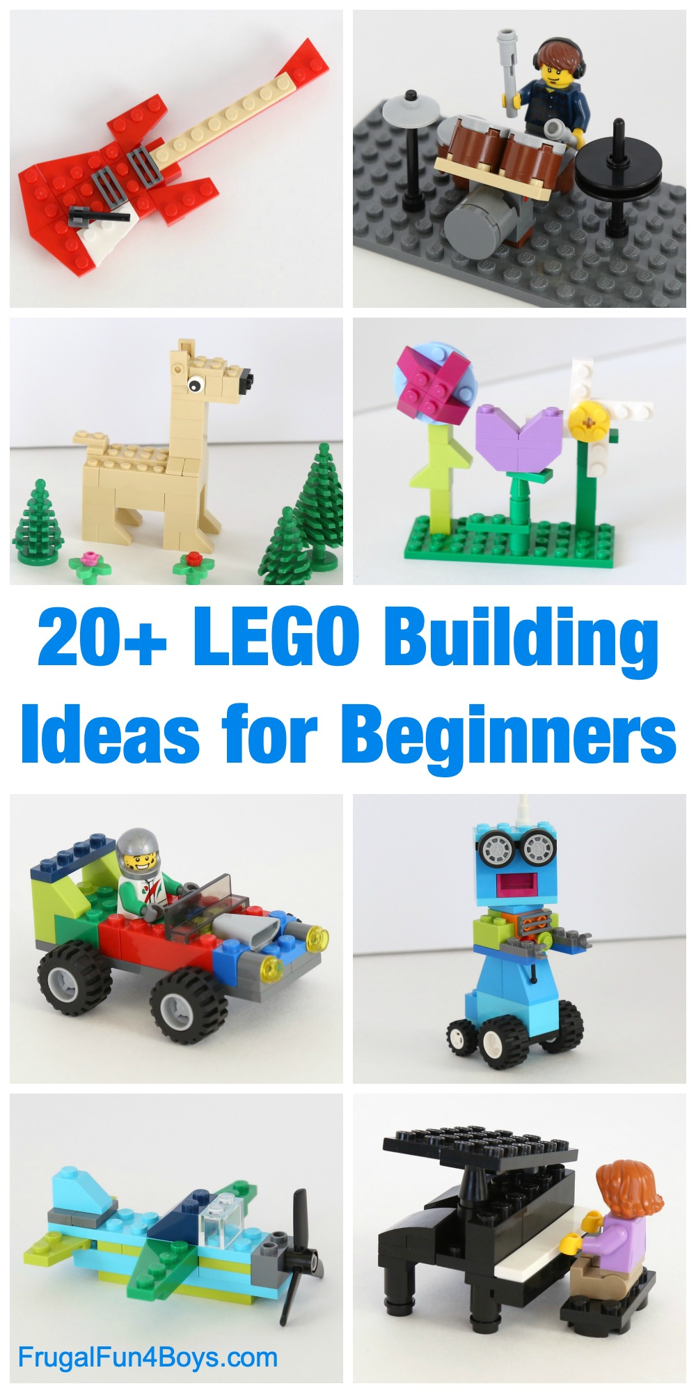 Wondrous 20 Awesome Lego Building Ideas For Beginners Frugal Fun Pabps2019 Chair Design Images Pabps2019Com