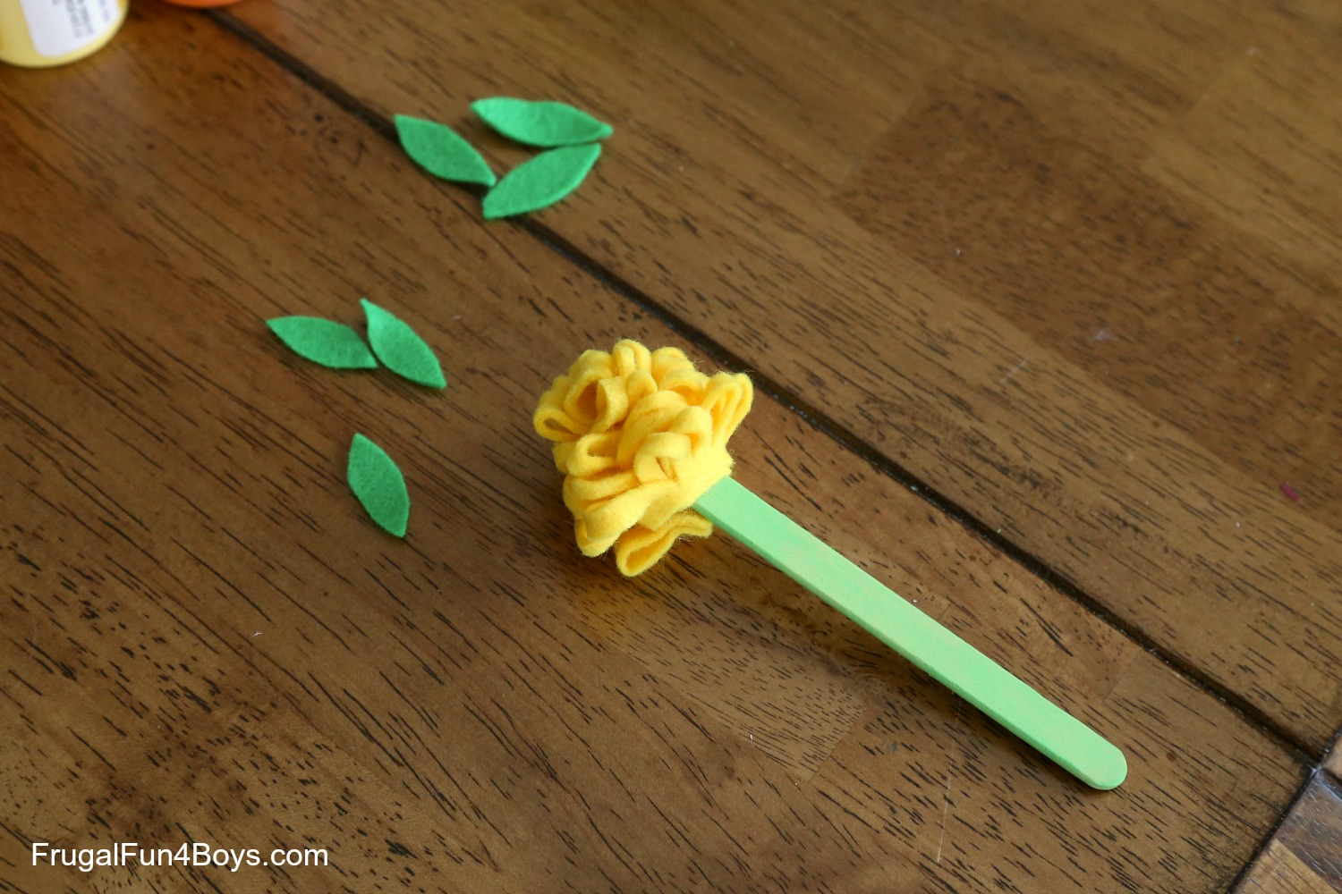 How to make a 3D flower craft