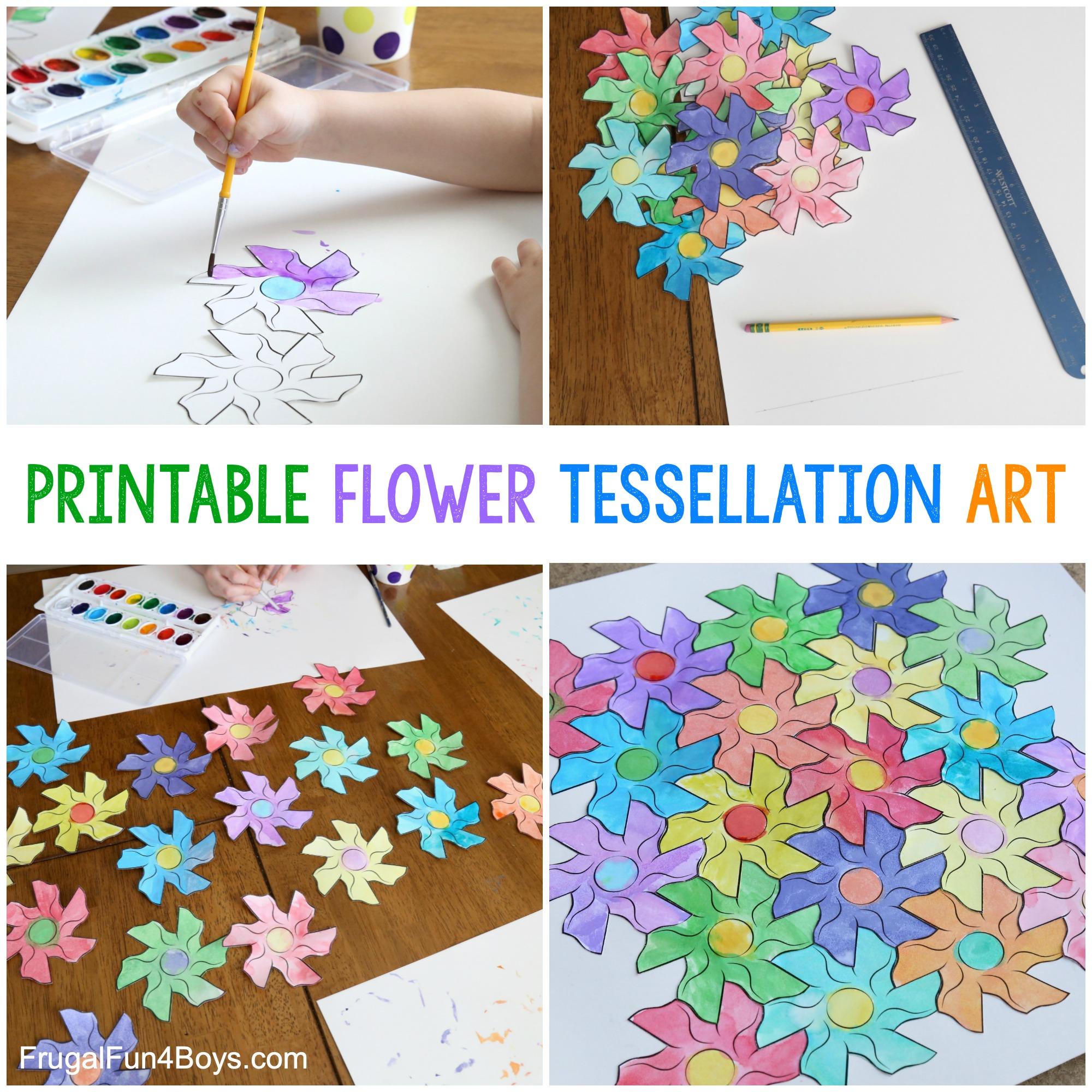 Flower Tessellation Activity