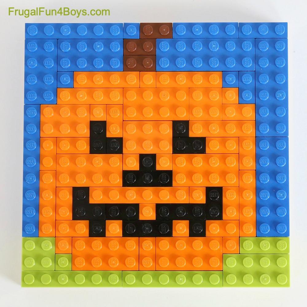 LEGO Jack O'Lantern