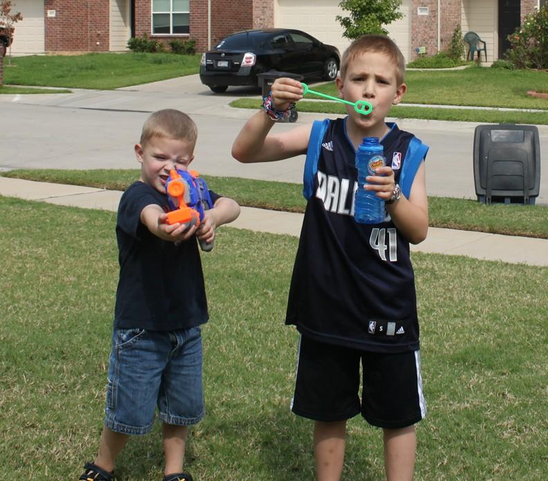 Bubble Target Practice