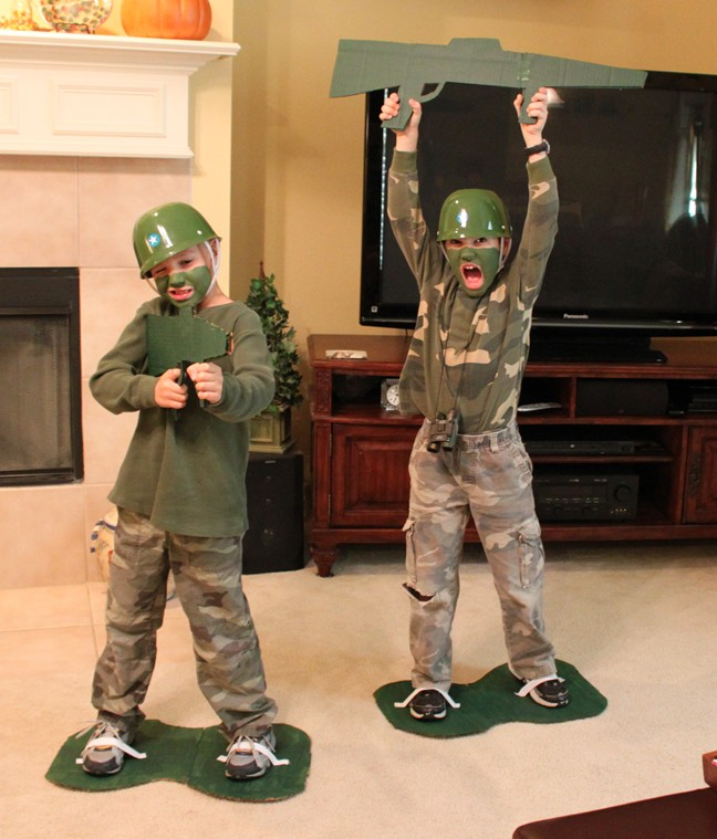 Best Toy And Model Soldiers For Kids : Frugal toy story army guy costume