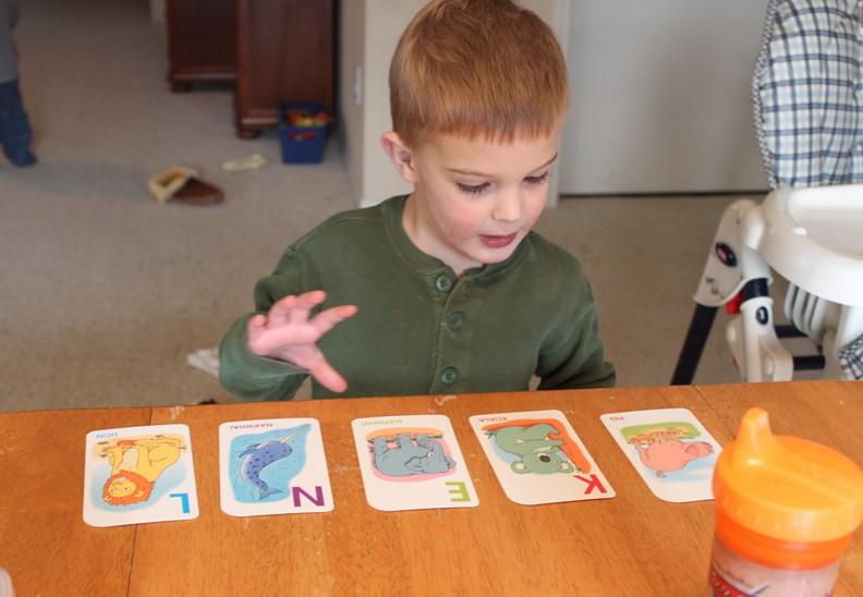 Alphabet Running Game