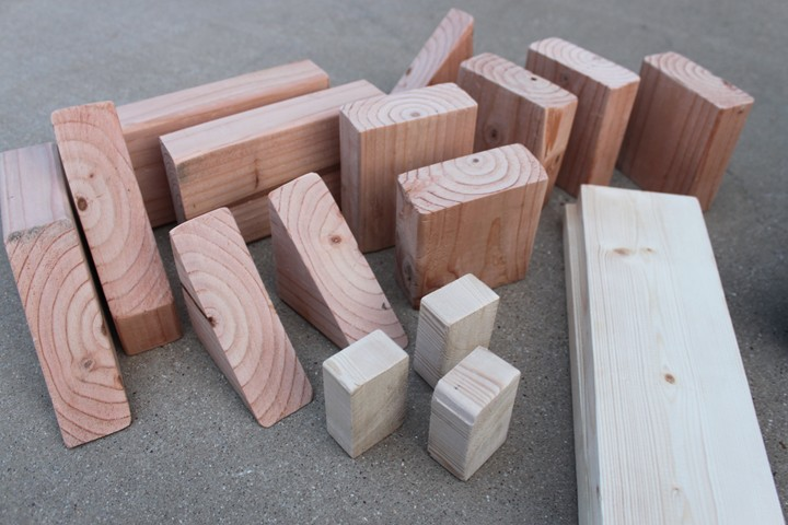 Make Your Own Wooden Blocks