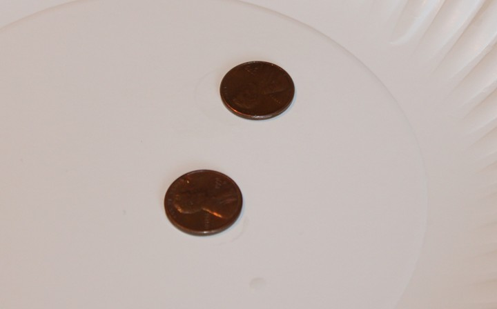 Simple Chemistry Experiment:  Clean Pennies with Vinegar