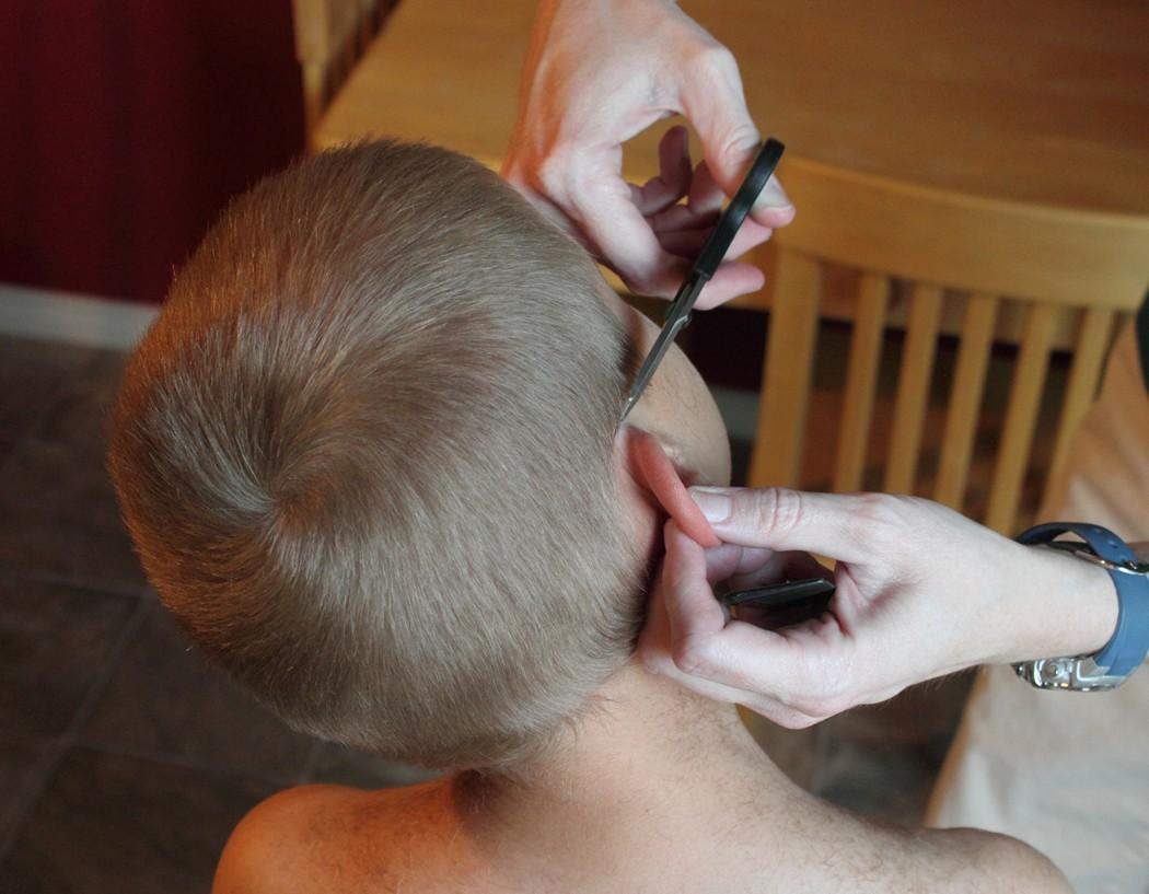 haircut women s clipper haircut very long hair cut short clipper