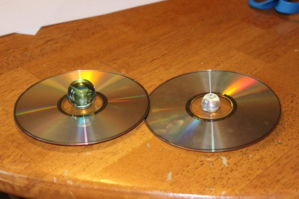 Colorful CD Spinners