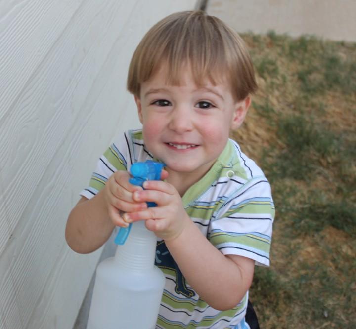 Water Spray Bottle = Fun for a Buck!