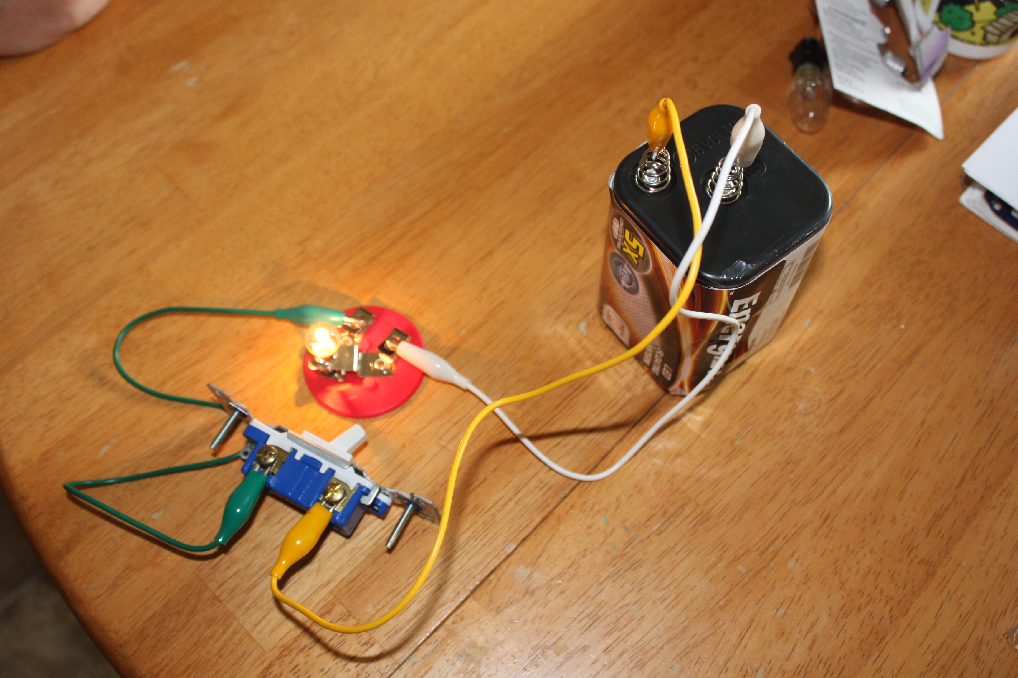 Electricity Experiments For Kids Frugal Fun Boys And Girls Easy To Build Buzzer Circuit The