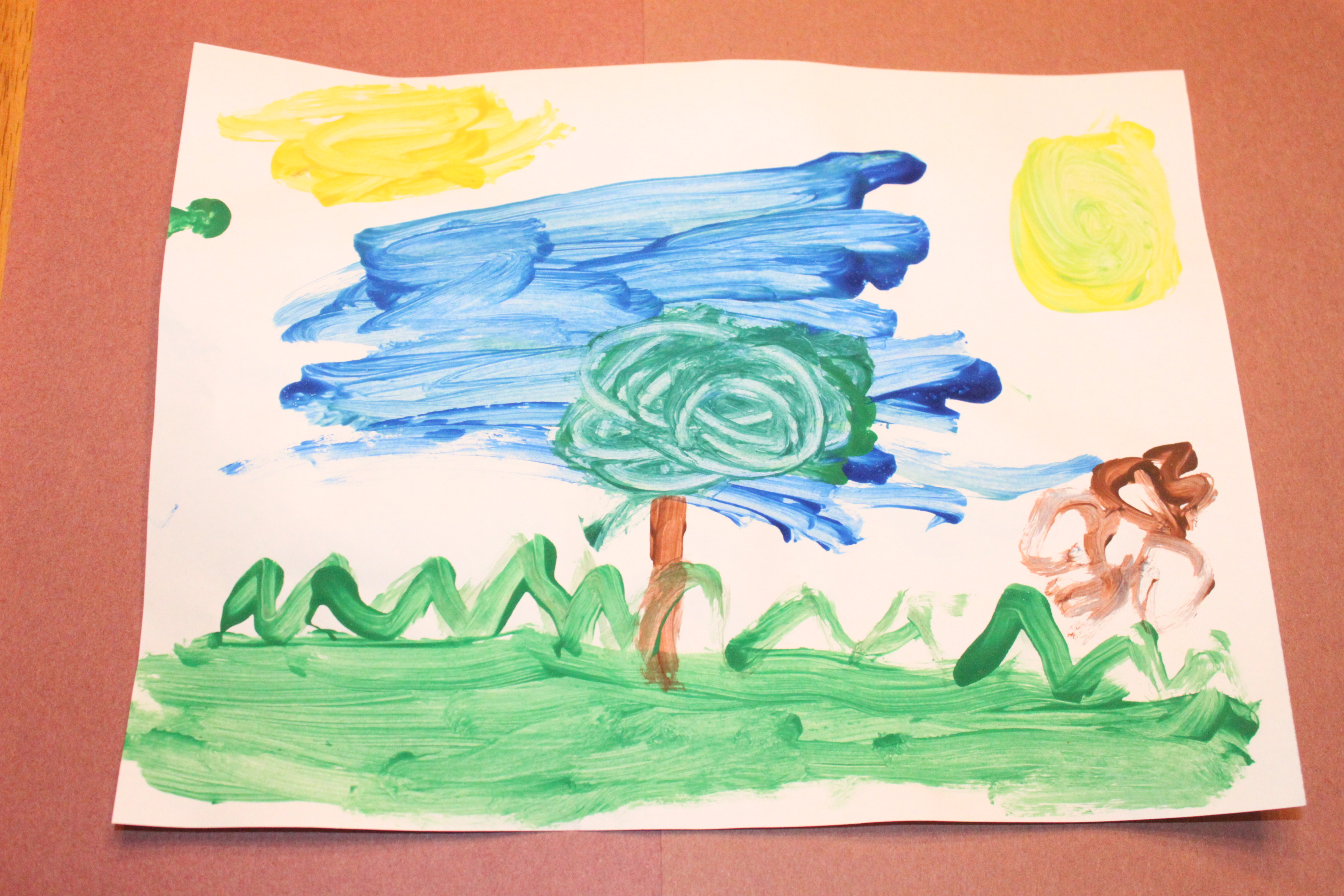 Art Activity:  Impressionist Paintings