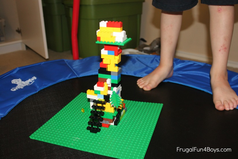 Lego Activity Earthquake Towers