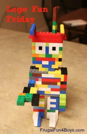 Lego Fun Friday: Robot Design