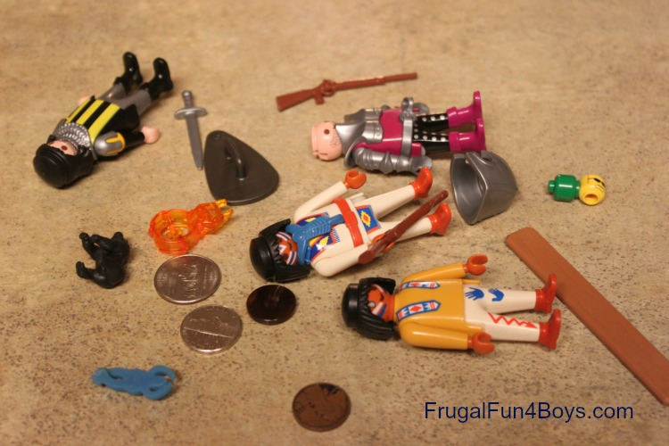 Big Fun Toys For Boys : Managing toys with little parts when you have a baby in