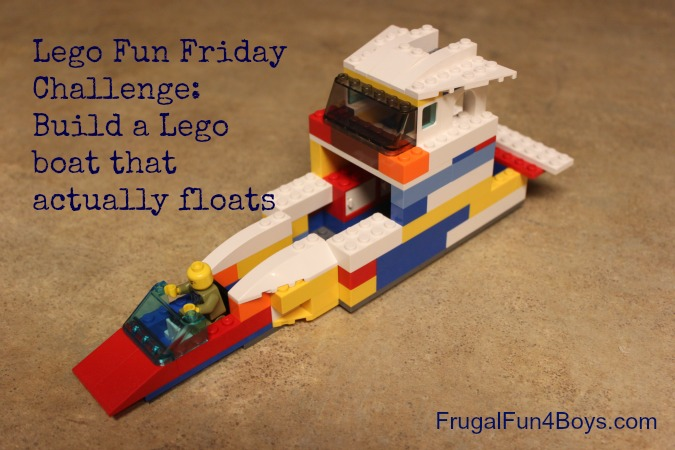Lego Fun Friday:  Build a Boat Challenge