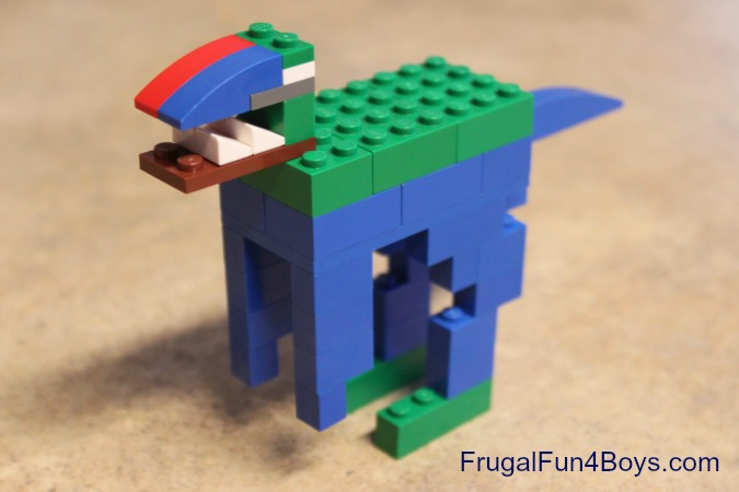 A Lego Fun Friday Building Challenge