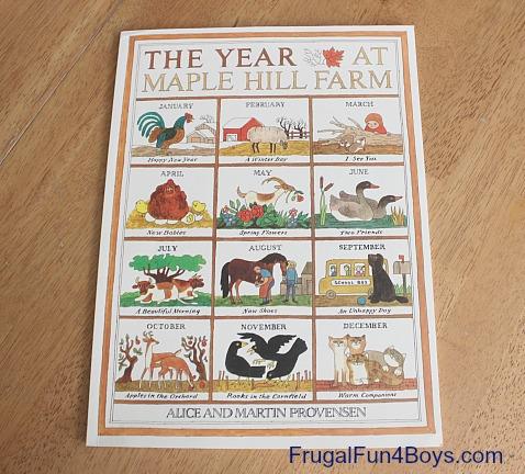 Preschool Unit: The Year at Maple Hill Farm