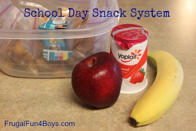 School Day Snack System