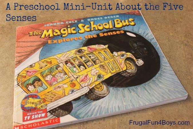 A Preschool Mini Unit On The Five Senses Part 2 on My Five Senses