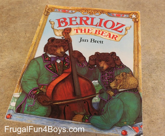 Preschool Activities for Berlioz the Bear by Jan Brett